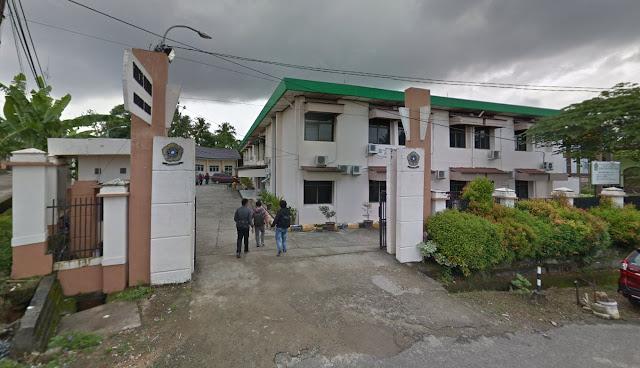 Gedung dan gerbang Fakultas Pertanian Unsri Palembang