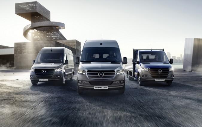 Mercedes-Benz Vans lidera vendas de comerciais leves e apresenta novidades na linha Sprinter