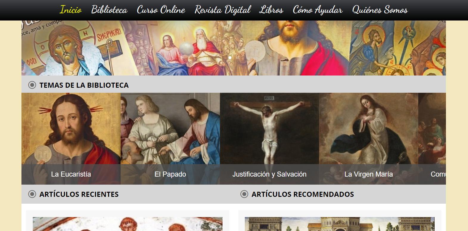 Carrusel rotativo de ApologeticaCatolica.org