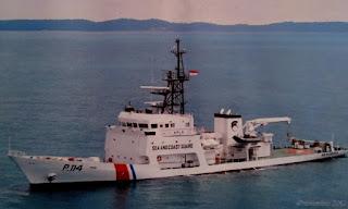 KN. Alugara Tangkap 6 Kapal Pelanggar Kespel Di Perairan Bangka Utara