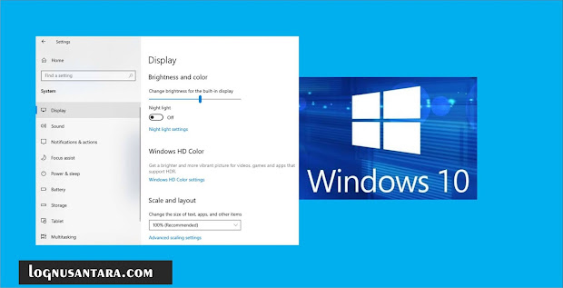 Cara Mengatur Kecerahan Monitor di Windows 10