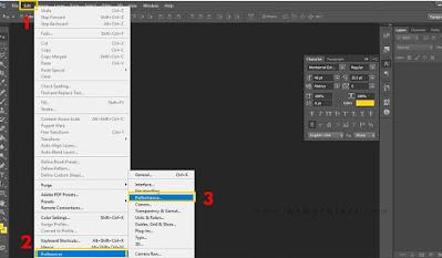 Cara Atur Pemakaian RAM di Adobe Photoshop