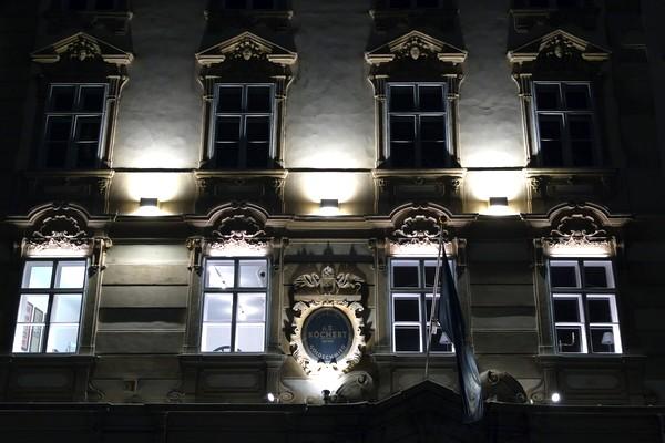 vienne nuit innere stadt façade neuer markt