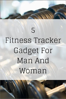 Fitness tracker gadget for man and woman
