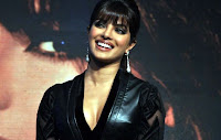 Priyanka Chopra Beauty in Black Dress