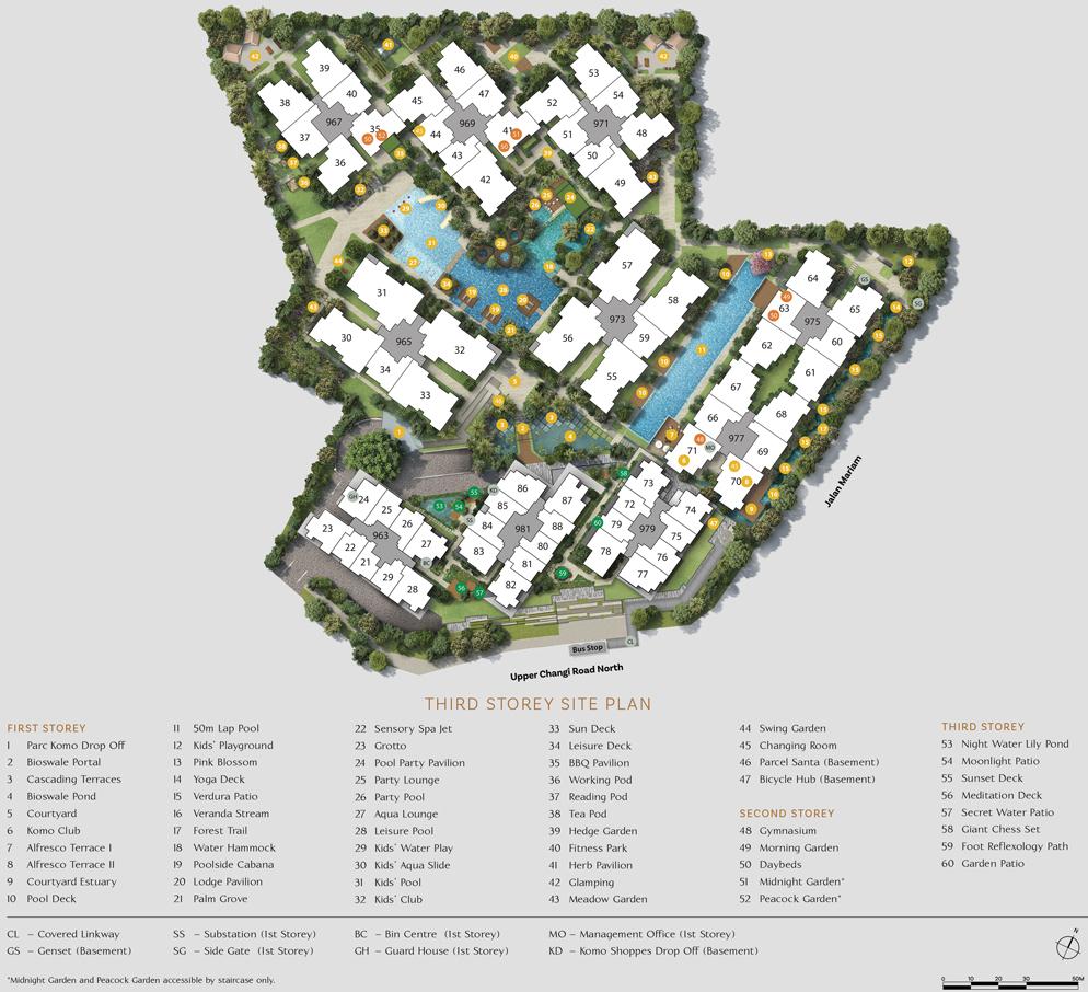 Parc Komo - Site Plan