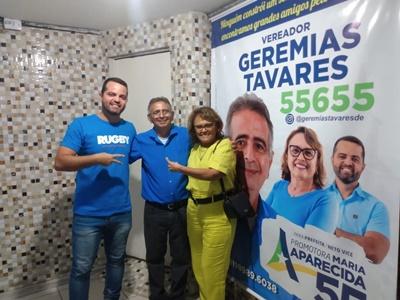 Candidata Promotora Maria Aparecida prestigia aniversário de Geremias