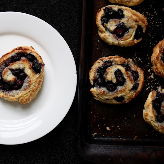 Blueberry Biscuit Rolls