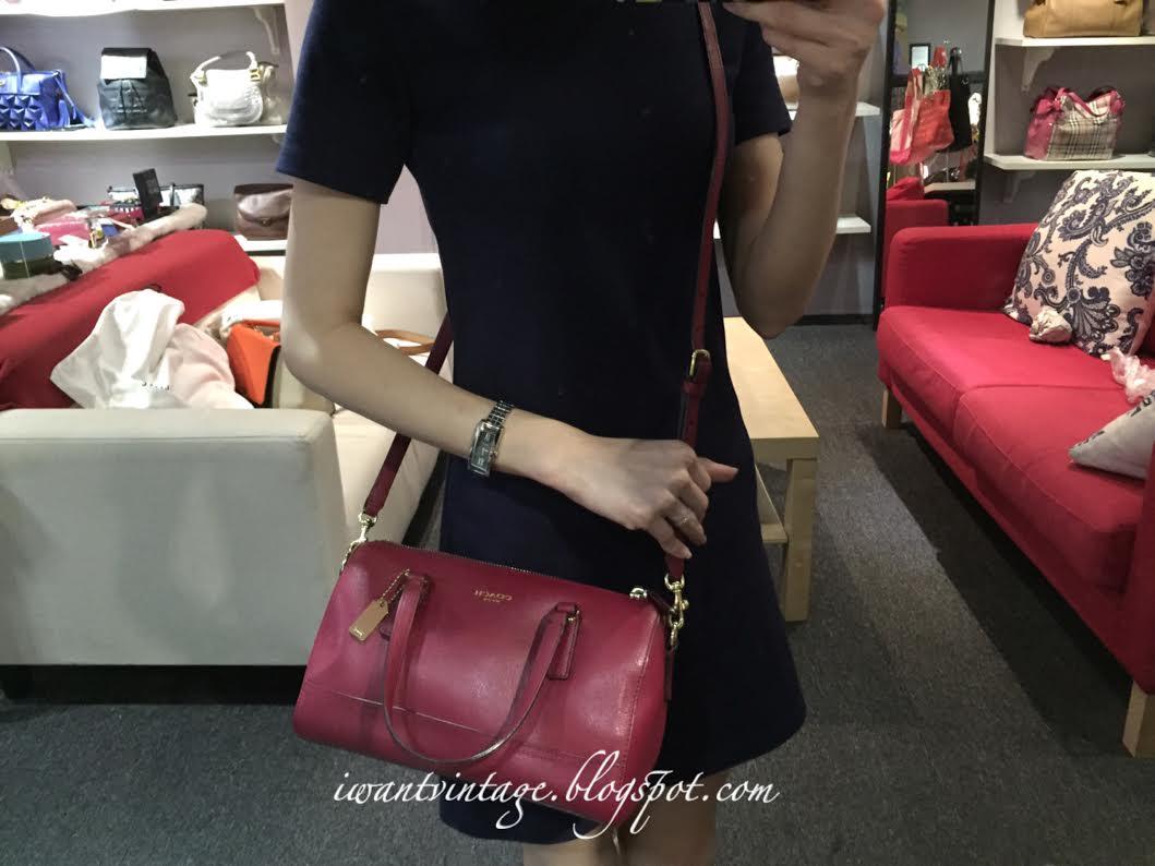 9c51cccca I Want Vintage | Vintage Designer Handbags: Coach Legacy Saffiano ...