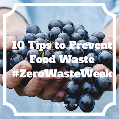 excellent tips to minimize food waste.