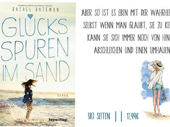 REZENSION || GLÜCKSSPUREN IM SAND ~ RACHEL BATEMAN