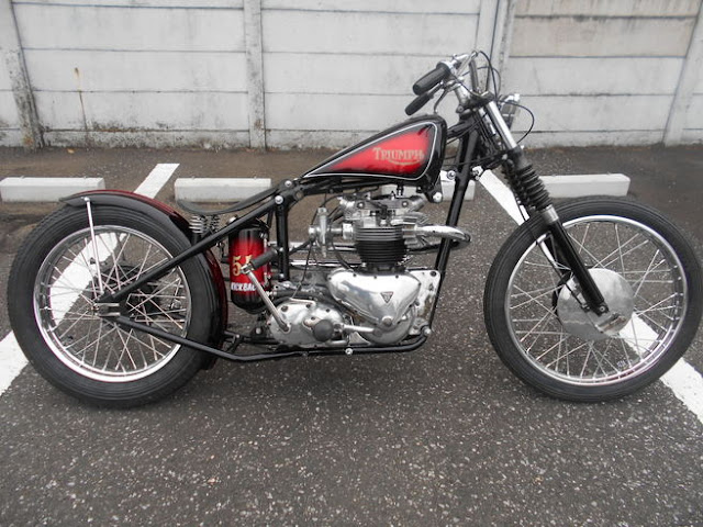 Triumph By Kick Back Hell Kustom