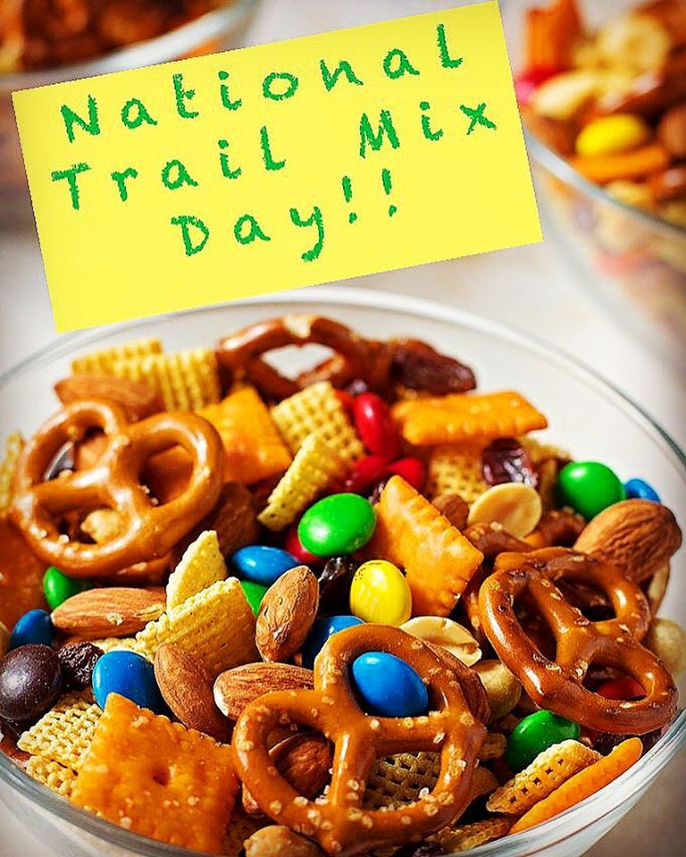 National Trail Mix Day