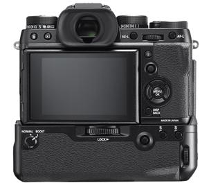 Фотоаппарат Fujifilm X-T2 с батарейной ручкой, вид сзади