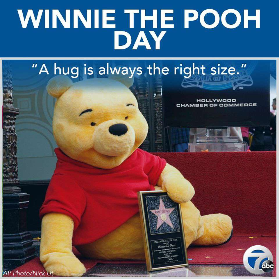 National Winnie the Pooh Day Wishes Pics