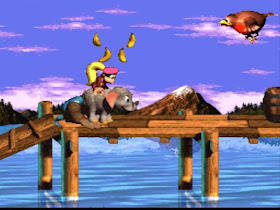Donkey Kong Country 3 Dixie Kong's Double Trouble snes