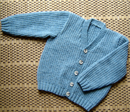 Marguerite Baby Cardigan - Free Pattern