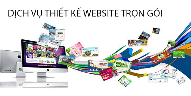 Thiết kế website trọn gói giá rẻ theo yêu cầu