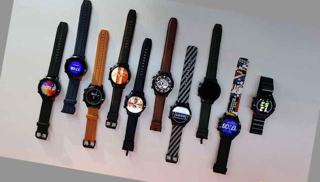 تم نشر 10 تصاميم مختلفة لساعة ريلمي ووتش اس برو Realme Watch S Pro