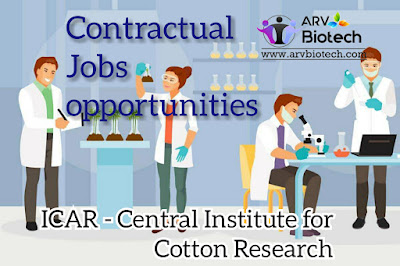 Contractual job opportunities ,https://www.arvbiotech.com