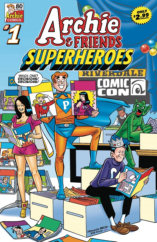 Cover of Archie & Friends: Superheroes #1
