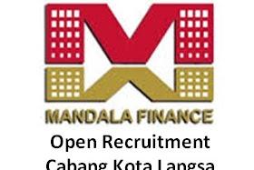 Lowongan Kerja PT Mandala Multifinance, Tbk Cabang Kota Langsa