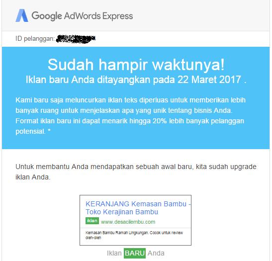 Manfaat beriklan dengan AdWords Express
