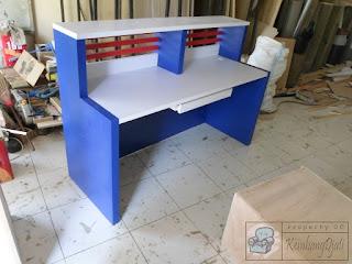 Furniture Kantor Semarang - Meja Resepsionis - Frontdesk