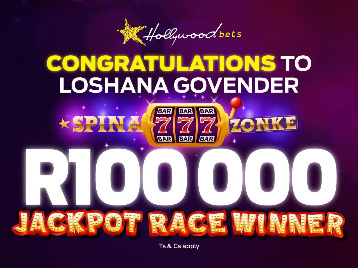 Spina Zonke: Jackpot Race Winners