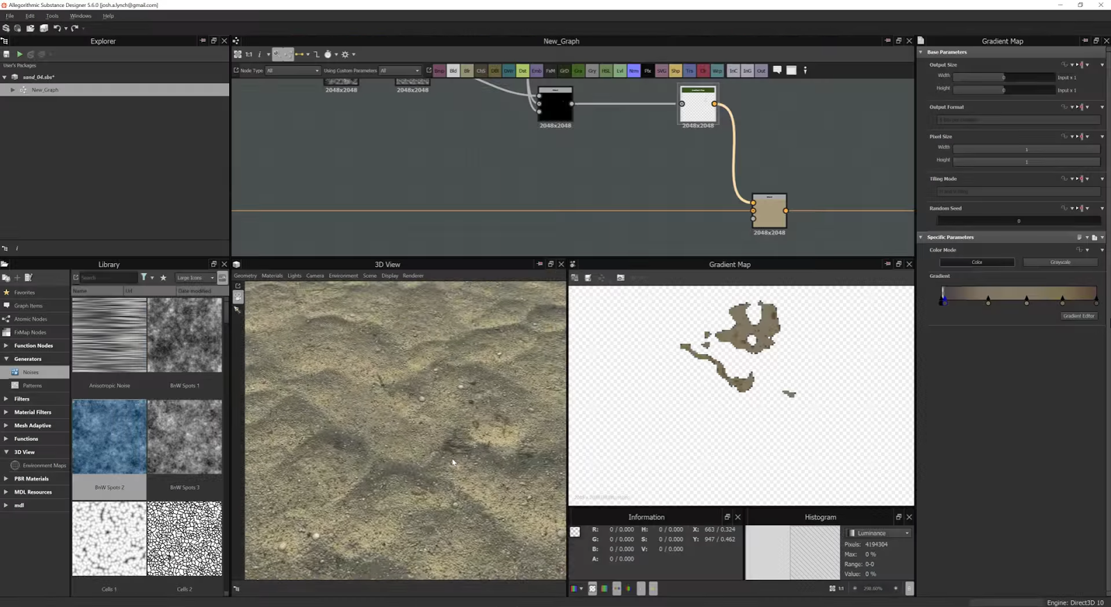 Creating Sand In Substance Designer | CG TUTORIAL