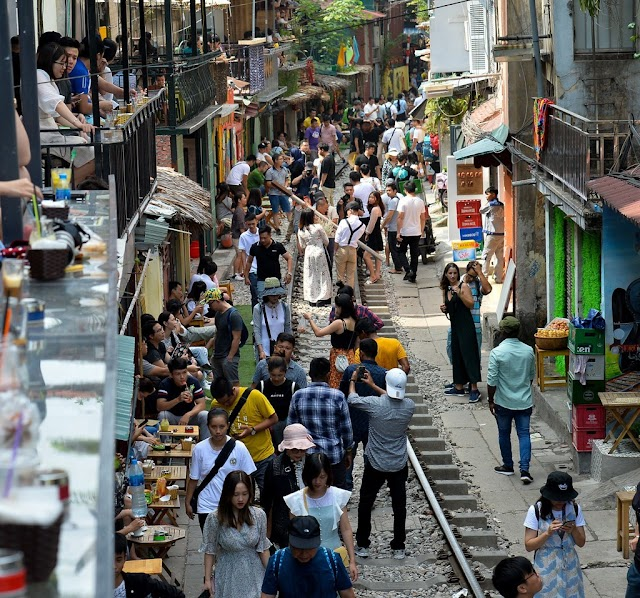 Railway street is one of the most booming places in the decade