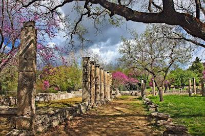 Αρχαία Ολυμπία την Άνοιξη
