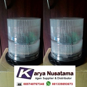 Jual Lampu Rotary Blitz 220v Putih Untuk Mobil Berat di Bandung