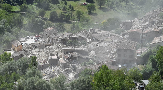 Terremoto en Italia 2016