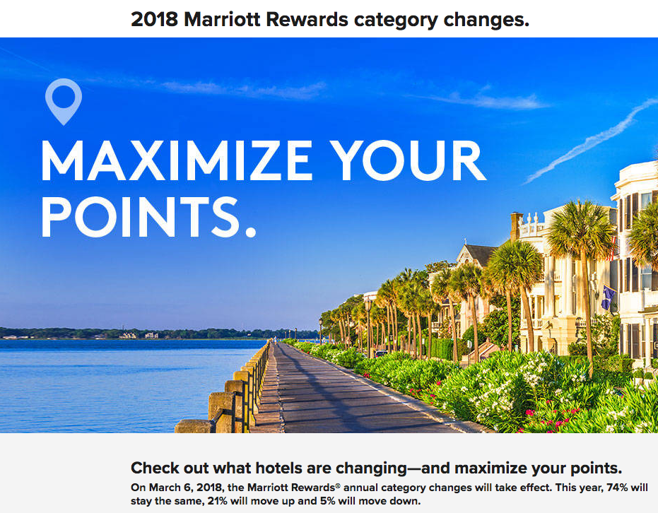 Earlier Today We Brought You The Details On Starwood Preferred Guest Hotel Category Changes And As Mentioned D Bring Marriott Rewards
