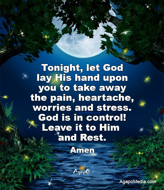 Leave it to God and Rest!