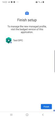 Installing and settting Test DPC app