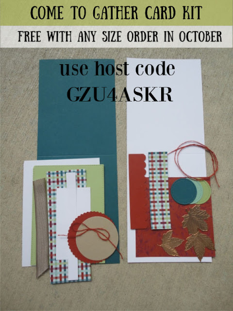 Free card kit in October using Host Code GZU4ASKR when you shop with Nicole Steele