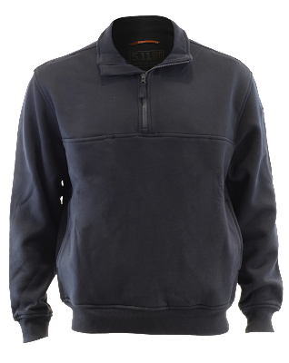5.11 Tactical Water Repellent Storm Fleece ¼ Zip Job Shirt, Navy