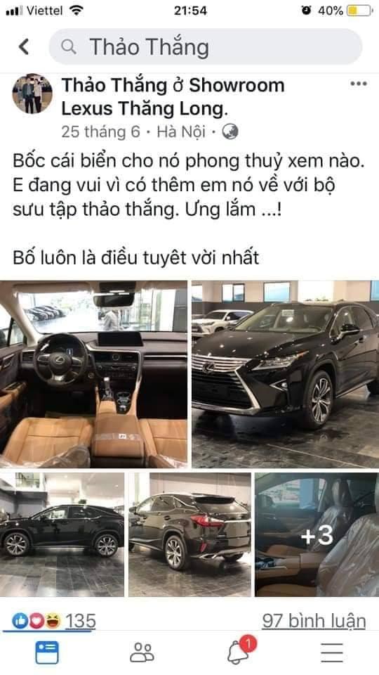 Tiểu thư Thanh Thảo con ông Nguyễn Mạnh Thắng khoe mỗi năm phá 20 tỉ trên Facebook 3