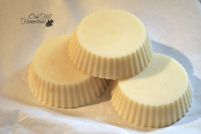 These hard lotion bars are so quick and easy to make, and only need 3 ingredients!