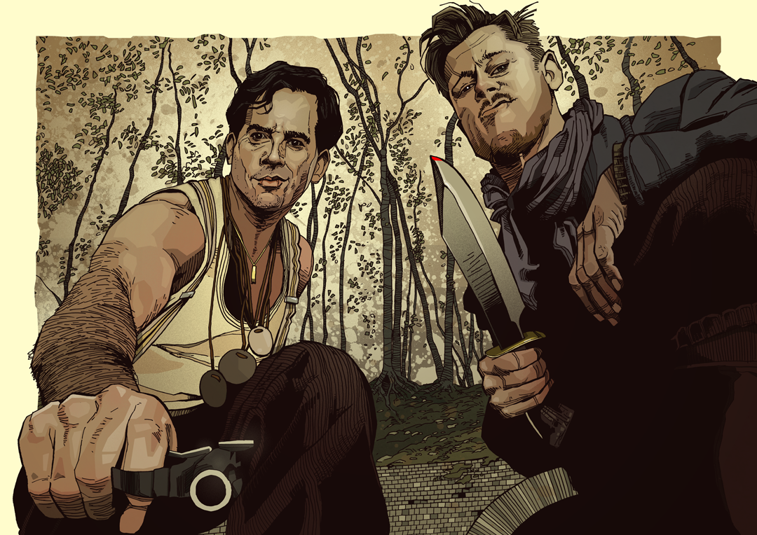 Tarantino Inglouris Basterds artwork
