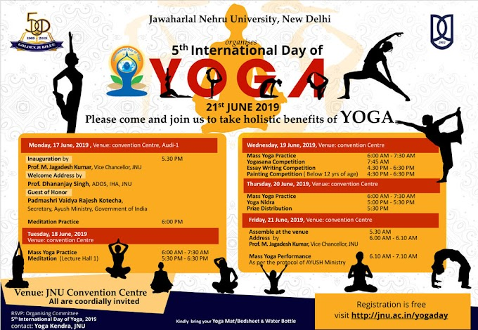 Online training for international yoga day