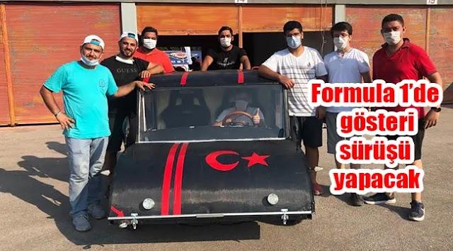 Urfa'nın yerli otomobili formula 1'e gidiyor