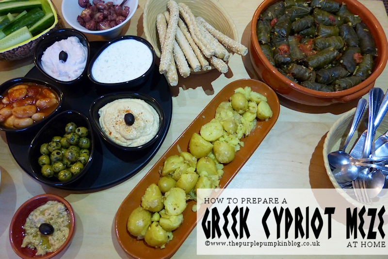 A Greek-Cypriot Meze for Six a #shop with #Asda + #CollectiveBias