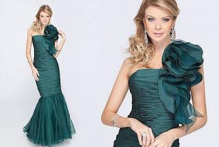modelo de vestido sereia bordado - looks e dicas