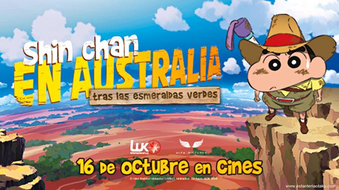 'Shin chan en Australia' se estrena en cines