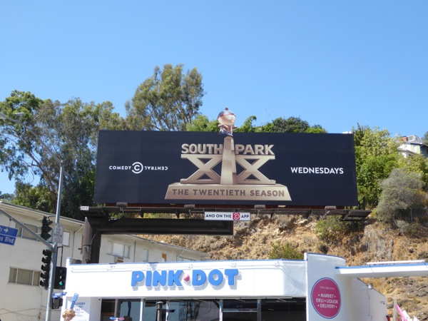 South Park season 20 billboard