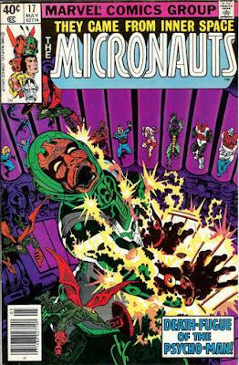 Micronauts #17, Psychoman