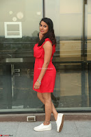 Shravya Reddy in Short Tight Red Dress Spicy Pics ~  Exclusive Pics 030.JPG